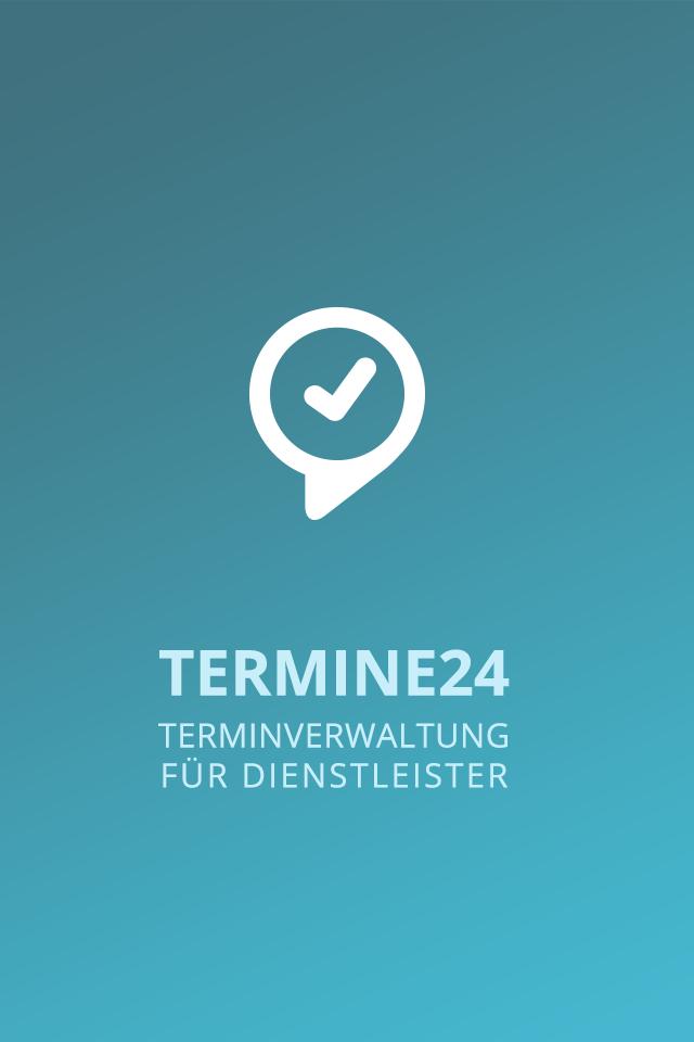 Termine24 für Dienstleister