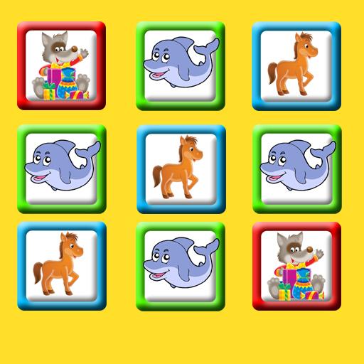 Coincidencia de juego para bebés y niños